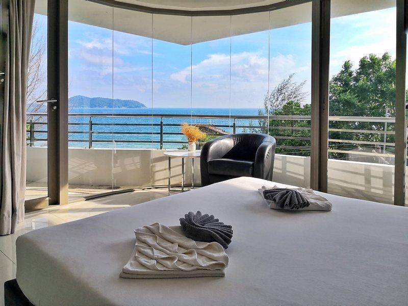 Camera da letto1 con vista mare