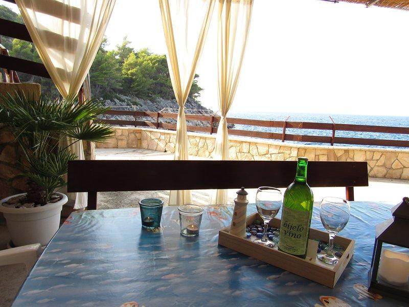 Robinson apartment Smiljanka 2 island Hvar near beach, vacation rental in Jelsa