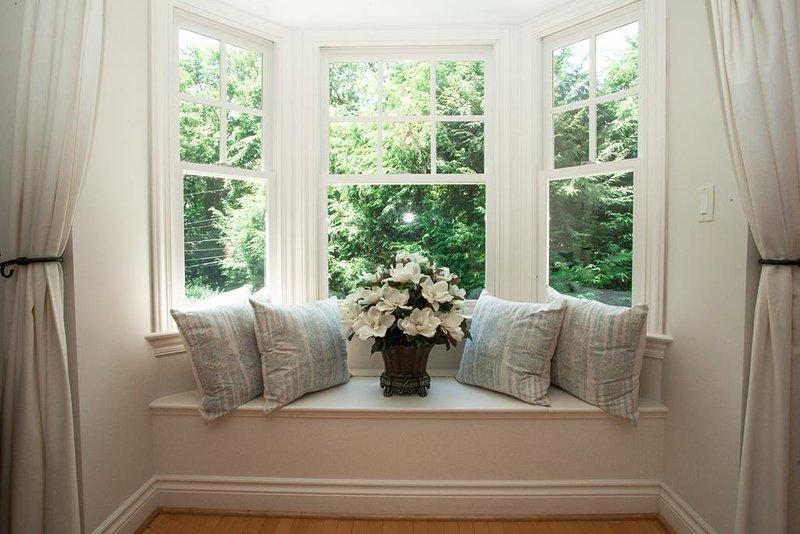Quiet windowside reading nook