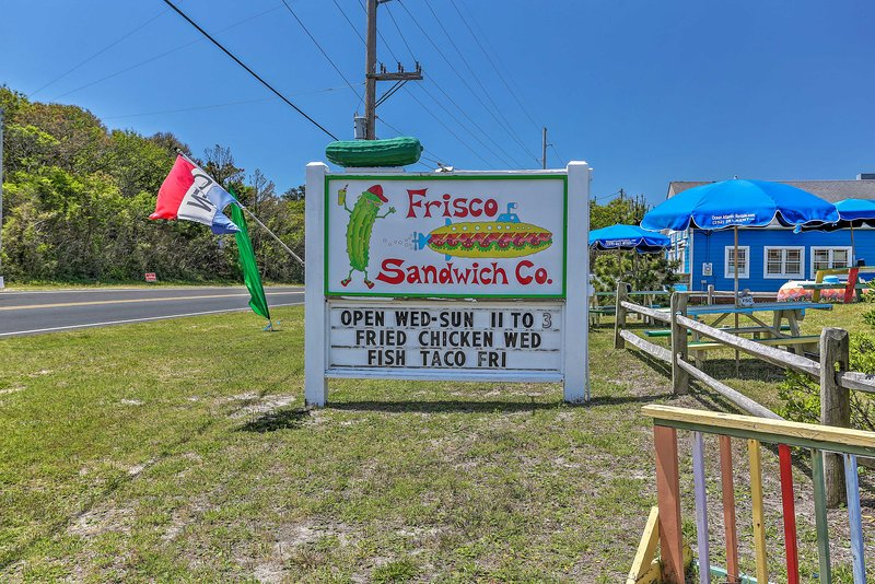 Grab a sandwich before heading to the beach!