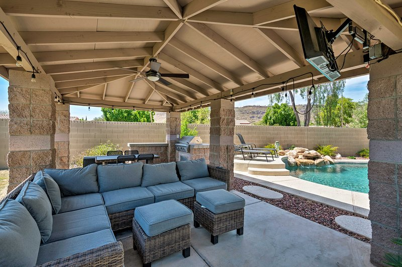 A fun-filled getaway awaits at this 4-bed, 2-bath vacation rental in Phoenix!
