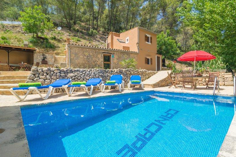 CAN CAPET - Villa for 4 people in Andratx, location de vacances à Galilea