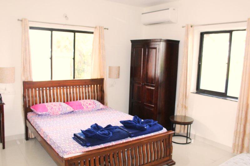 Slaapkamer. Met balkon