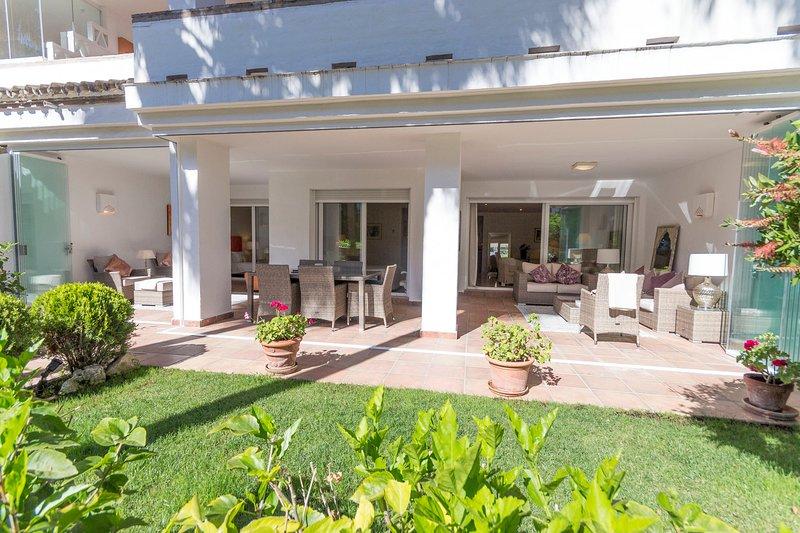terraces & private garden