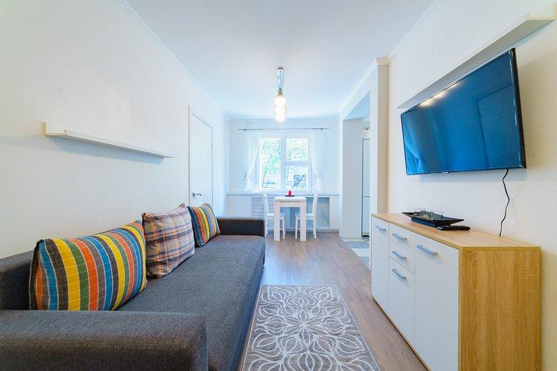 VIP European Style Apartment, Jakuba Kolasa, casa vacanza a Regione di Minsk