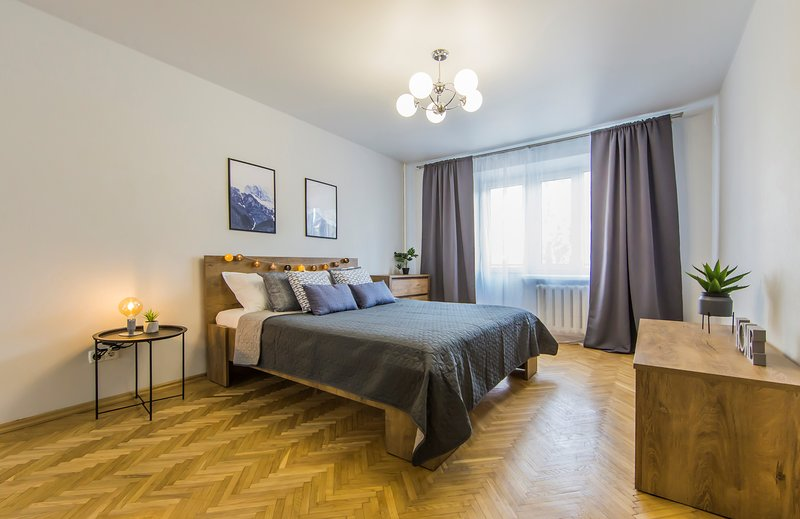 Stylish 2 room apartment at Olympic Stadium, holiday rental in Kyiv (Kiev)
