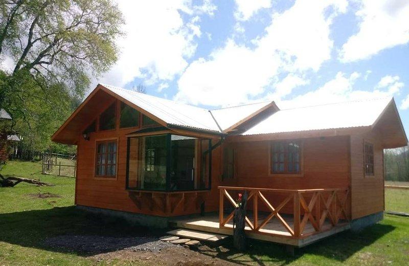 Cabana 4 Personas En Hermoso Paisaje En Pucon, vacation rental in Pichare