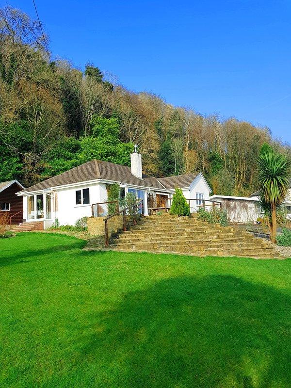 Lodge Eleonora con gran jardín y terraza.