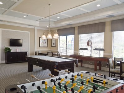 Fantastic community game room