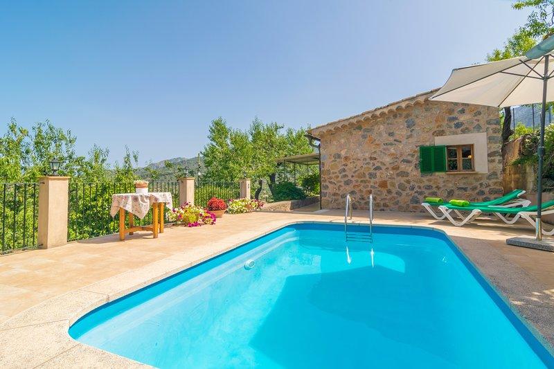 CAN FABIOL - Villa for 2 people in Soller, holiday rental in Soller
