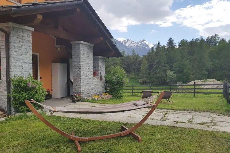 Beautiful apartment in Bionaz, location de vacances à Valpelline