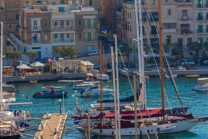 View at Vittoriosa Waterfront