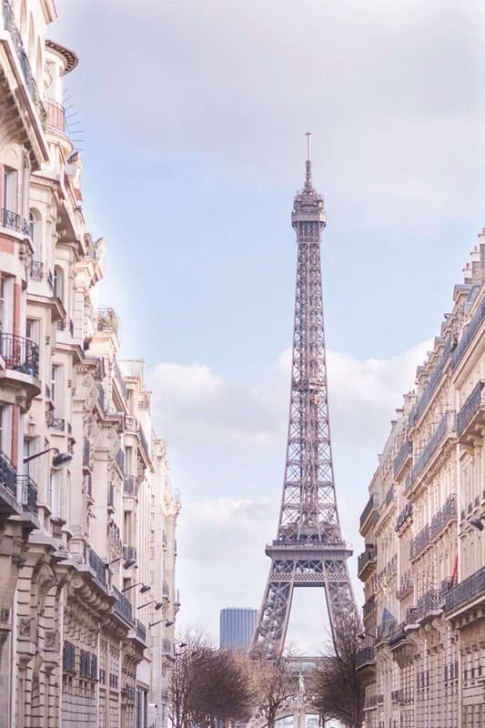 Stroll to the Eiffel Tower, located just one block away