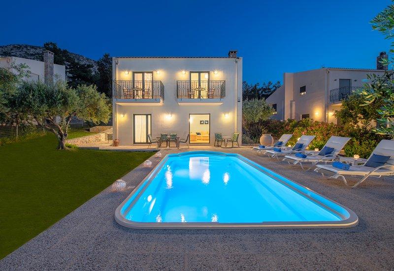 Nefeli villas - Luxury Green house, alquiler vacacional en Chersonisos
