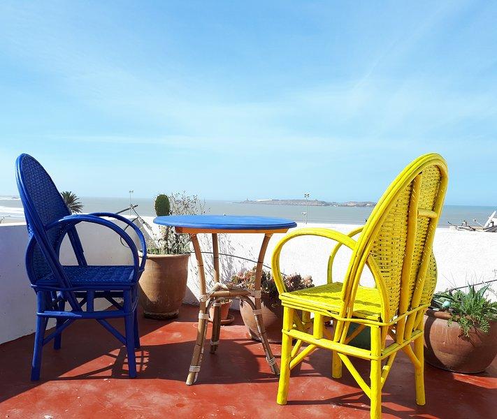 The Rooftop - Beach View Terraces, location de vacances à Essaouira