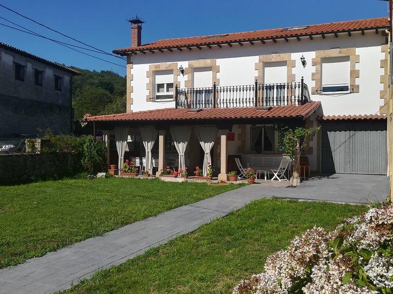 Casa Rural en Valles Pasiegos La Rasilla (Cantabria), alquiler vacacional en Carandía