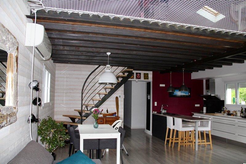 Maison individuelle récente près de Biarritz, casa vacanza a Arbonne