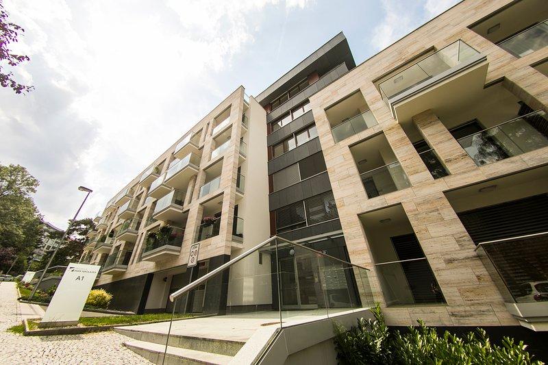 Residence 'Park Nikolajka' 1, alquiler vacacional en Nizbor