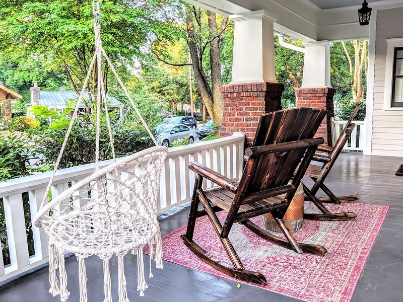 A quintessential southern home in one of Charlotte's most charming neighborhoods
