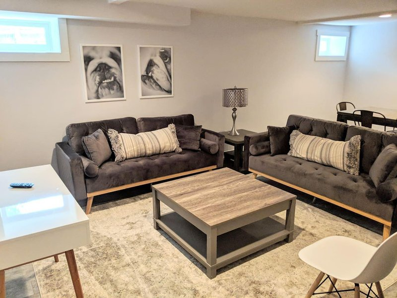 A great space.  Open floor plan makes hanging out with friends easy.
