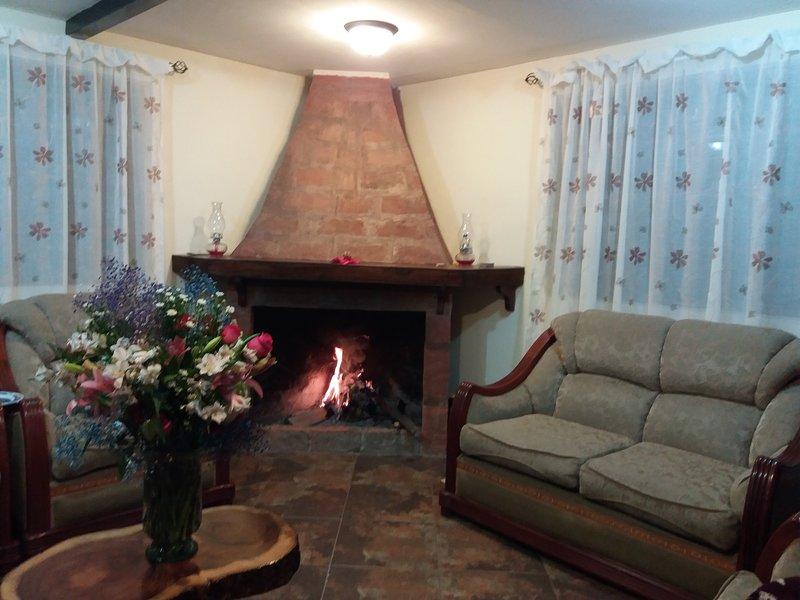 El Yagual es un espacio privilegiado donde podrás combinar la vida del campo con, holiday rental in Cayambe
