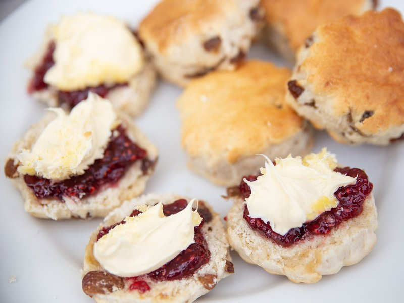 Why not enjoy a Cornish Cream Tea during your stay? try the local cafe yards from the front door.