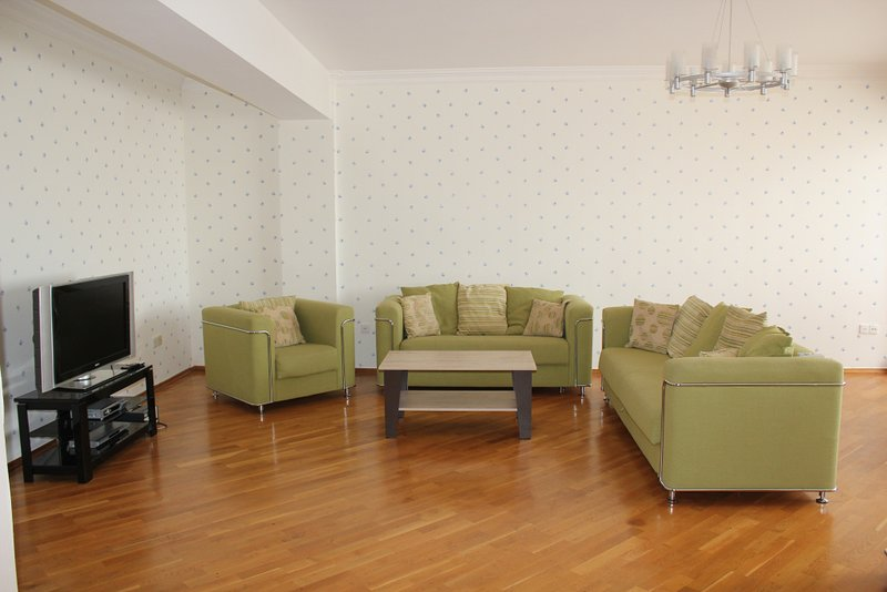3 bedroom apartment with top view, holiday rental in Baku