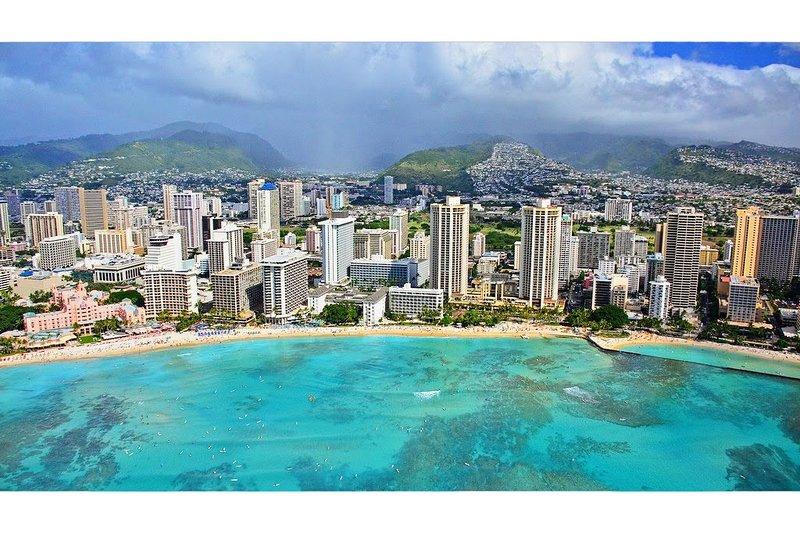 Ne préféreriez-vous pas rester à moins de 7 minutes du centre de Waikiki Beach?