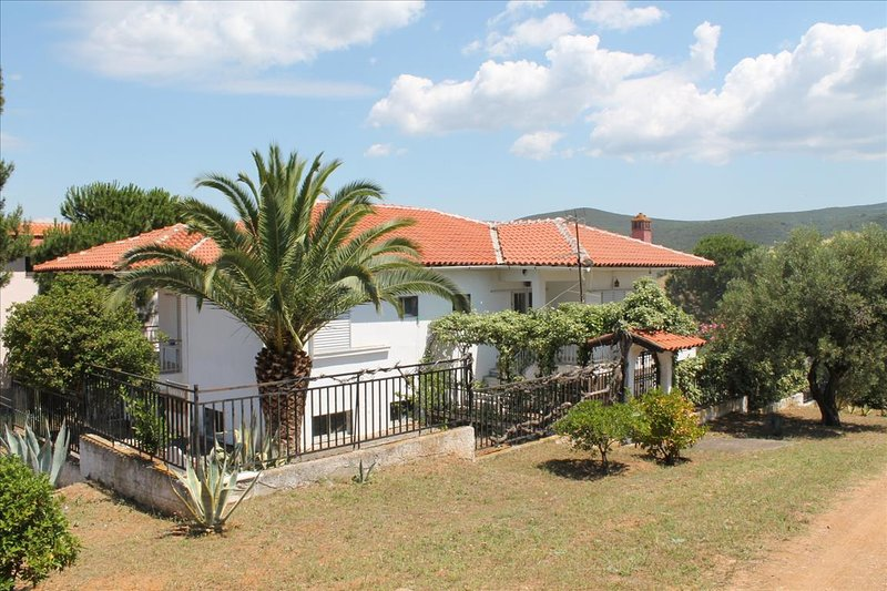 Villa Milenitta - 2 baths, amazing garden and view, holiday rental in Polygyros