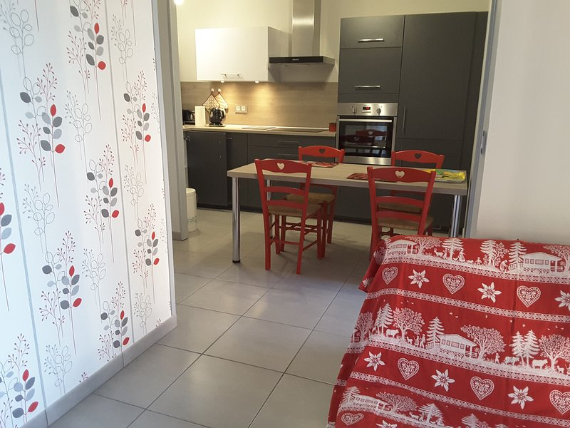 Beautiful apt with shared pool, vacation rental in Vallorbe