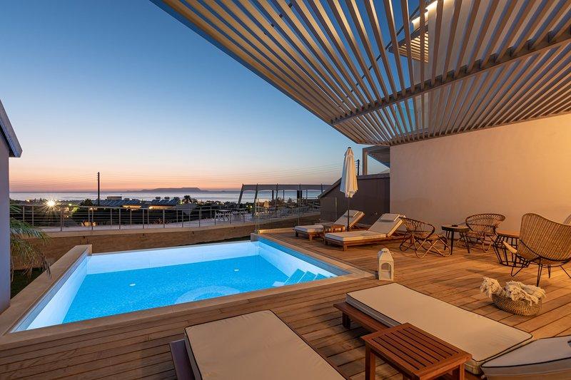 Blossom - 1 Bedroom Sea View Villa with Private Pool | Onira Suite Dreams Crete, holiday rental in Anissaras