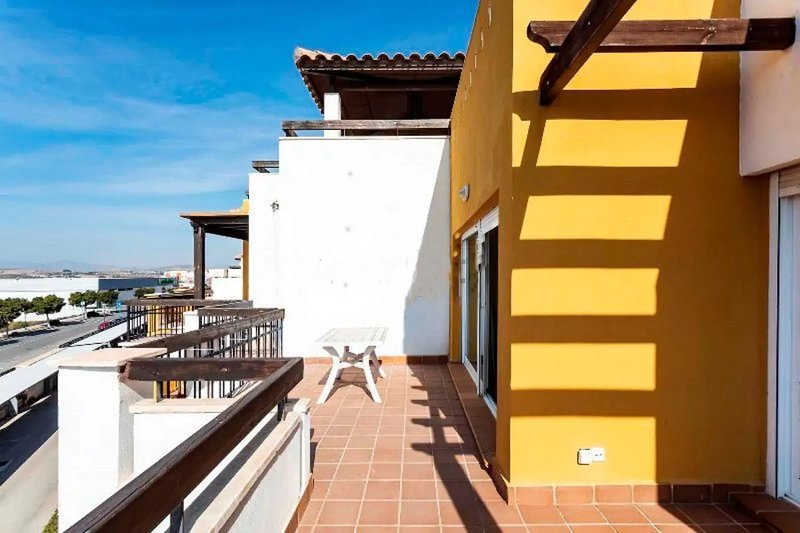 Nice apartment with shared pool, holiday rental in Puerto Rey