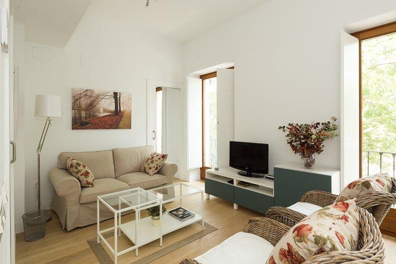 Jardines Murillo. 2 bedrooms, 2 bathrooms, holiday rental in Lora del Rio