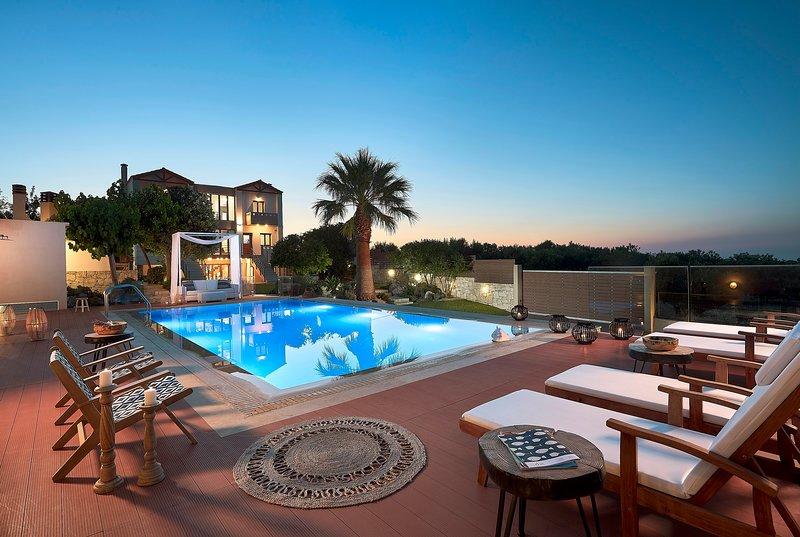 Luxury Villa Margarita, holiday rental in Heraklion