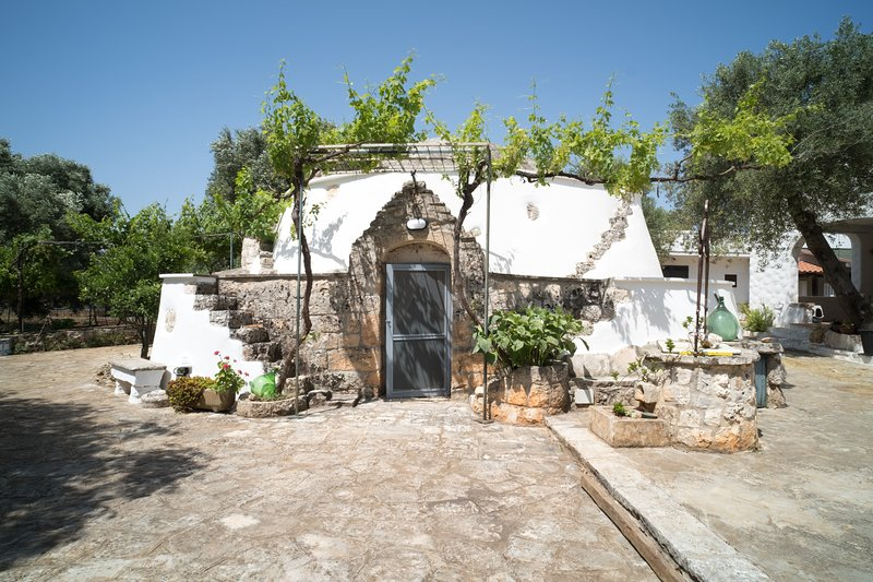 Il Trullo del falegname Ostuni by Typney, vacation rental in Chianchizzo I