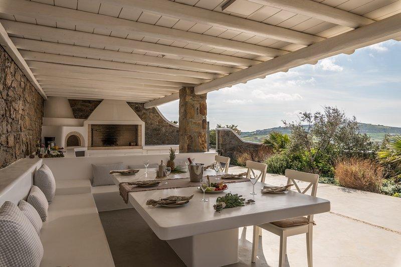 Villa Irini - Panormos, location de vacances à Panormos