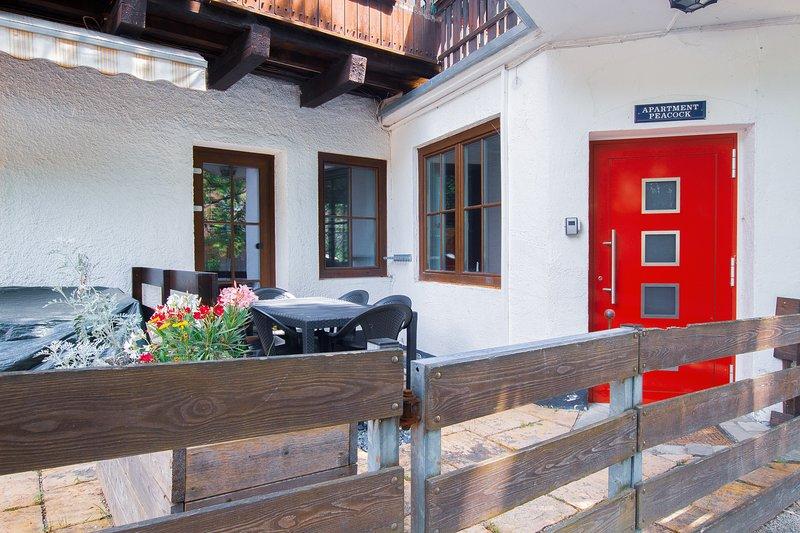 Apartment Peacock, sleeps 6, near ski pist Chalet in Zell am See - Kaprun