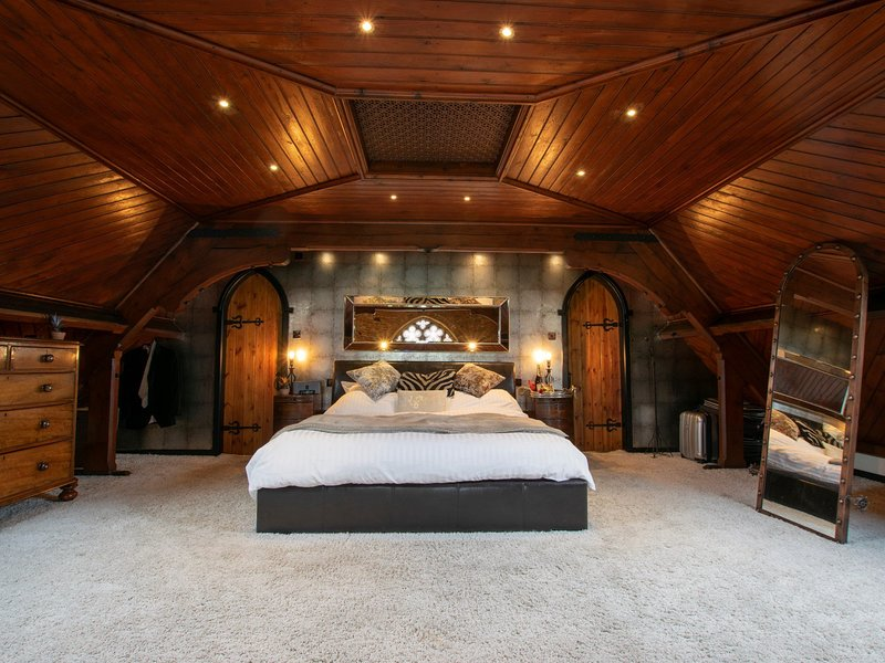 Magnificent master bedroom
