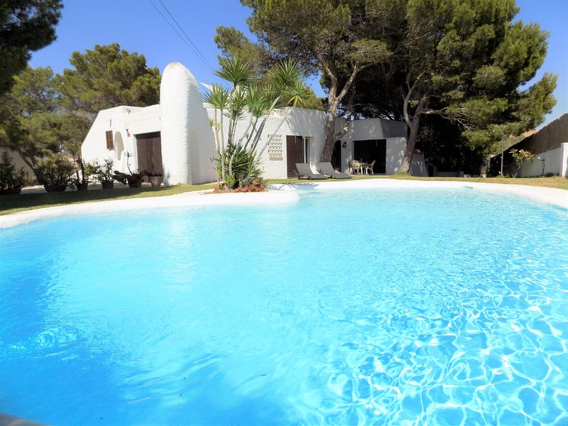 Chalet ibizenco cerca de Cala Blava, vacation rental in Tolleric