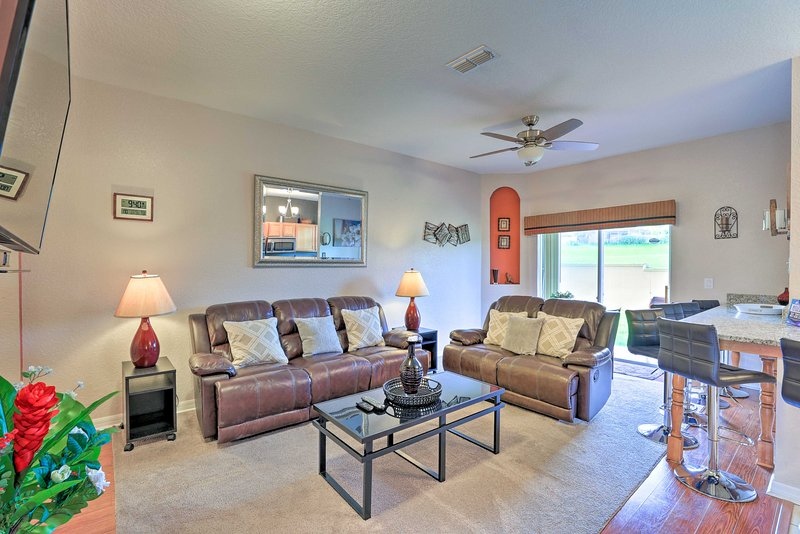 Get away to the Orlando area and stay at this Davenport vacation rental!