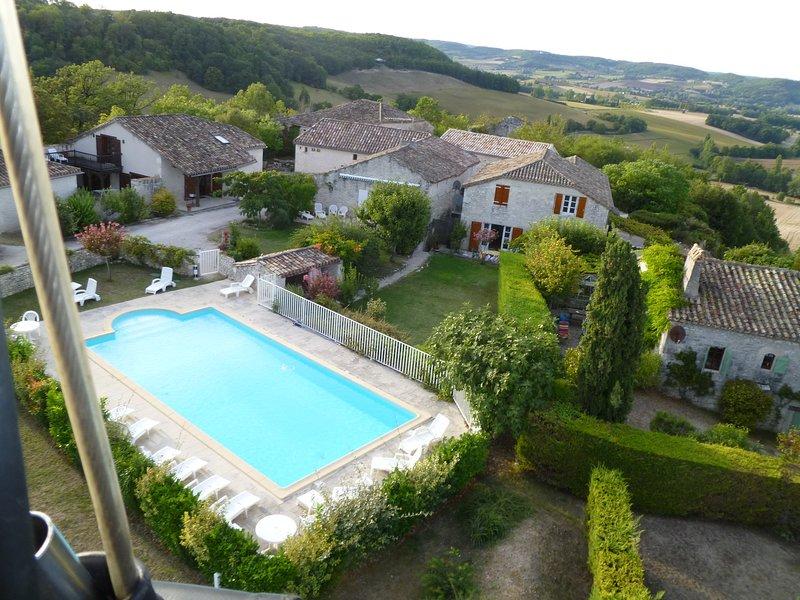 Village de Loubas (Whole Village), holiday rental in Trentels