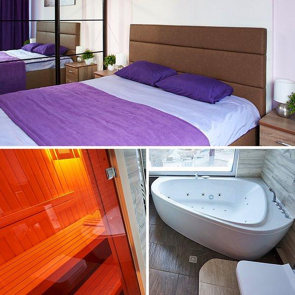 Apartments Khreshatyk With a Sauna and a Jaccuzi!, location de vacances à Kiev