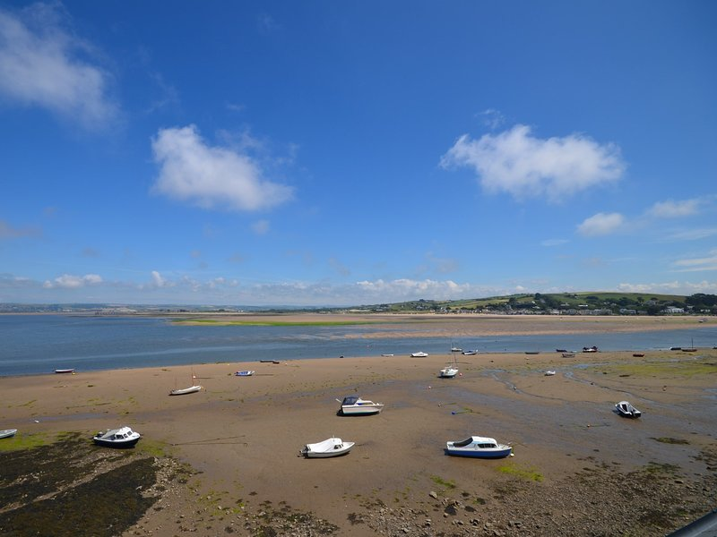 Stunning views across the estuary