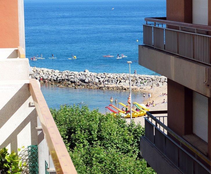 Apartamento 60 m playa puro centro vista panoramica, amplio y luminoso, casa vacanza a Sant Feliu de Boada