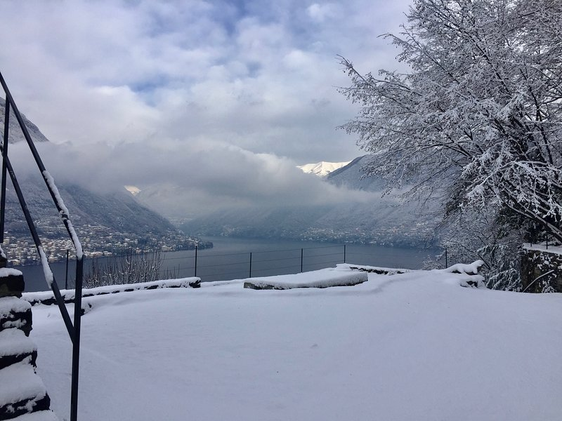 wintertime at Villa Torno