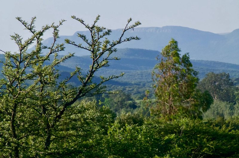 Vista de la montaña de Magalies