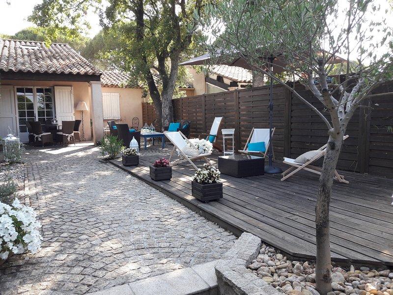 GASSIN St TROPEZ  joli mazet, holiday rental in Port Cogolin