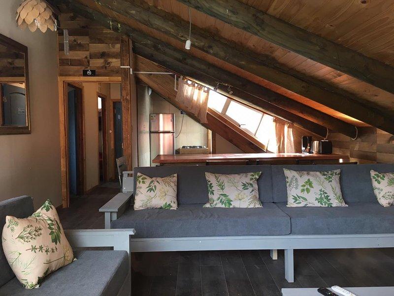 Cabaña en valle las Trancas, location de vacances à Biobio Region