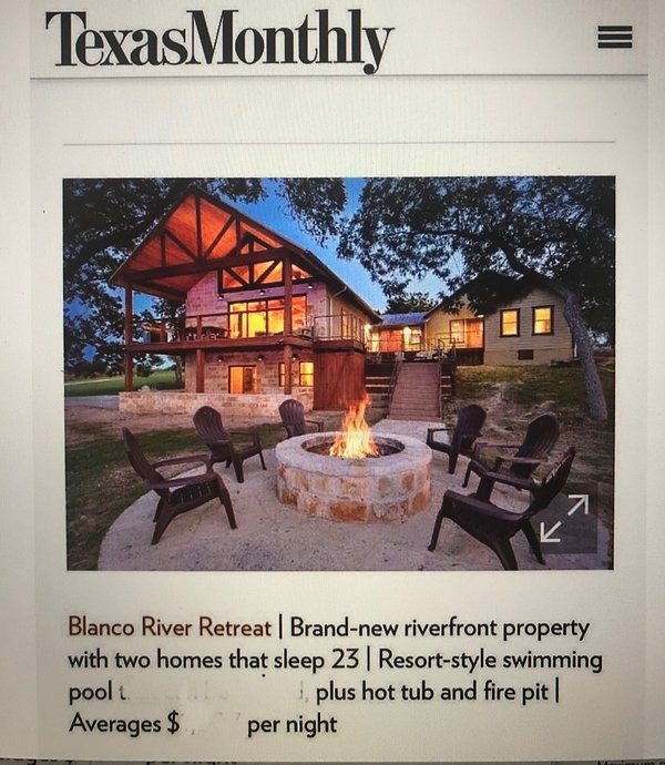 We were proudly featured in a Texas Monthly article.