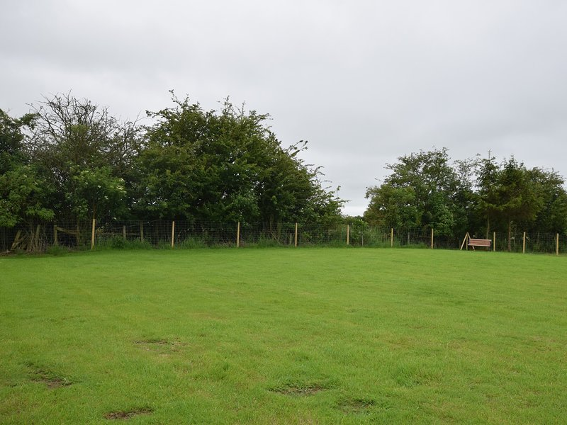 Enclosed dog paddock for your dog to run around - approx 1/3 acre
